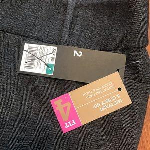 Mossimo Supply Co. Pants - 🍁Mossimo mid waist & curvy hip trouser, SZ 2